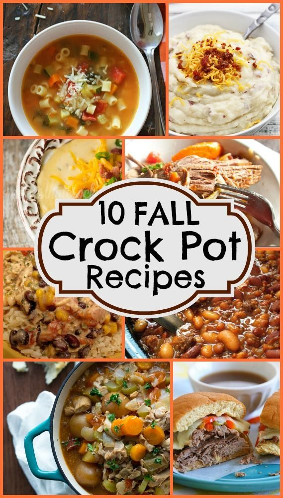 85 Best Recipes Crockpot Images On Pinterest Casserole