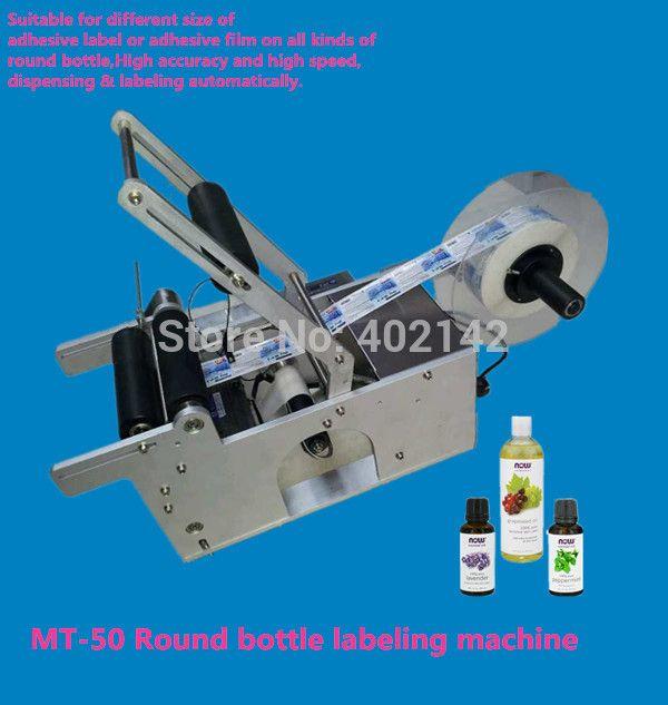Free shipping,Semi-automatic Round Bottle Labeling Machine,Labeler for round bottle,round can,e liquid bottle