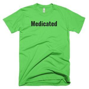 Medicated - Jerseyknit Short-Sleeve T-Shirt - Black
