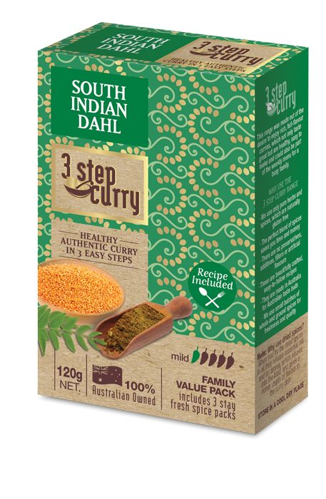 South Indian Dahl « 3 Step Curry