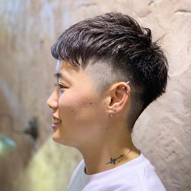 magiy hair 下北沢 info magiy jp はinstagramを利用しています いつもありがとうございます 3ミリの刈り上げベリーショート 前髪も短めで全体的にコンパクト 爽やかーに仕上がりました magiyhair 下北沢 マギ ベリーショート 刈り上げ ショート