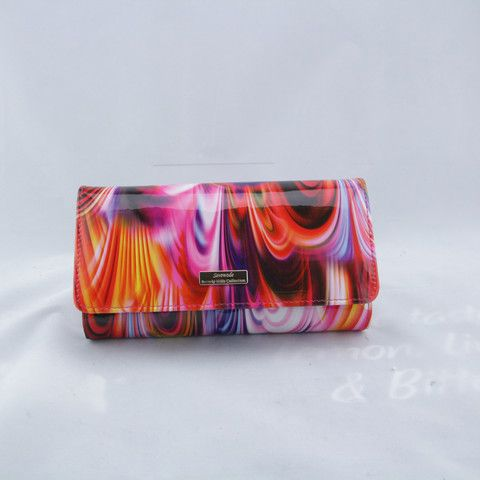 "Ladies' Wallet, Serenade Leather, ""Rainbow"""
