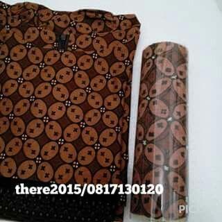 Batik Roll Cake // Kawung