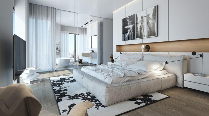 LuxuryHome Design White bedroom