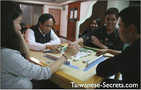 chinese game mahjong