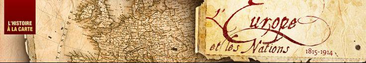L'Histoire à la carte : Cartes et histoirede l'Europe au XIXe siècle, du Congrès de Vienne 1815 au Printemps des peuples 1848
