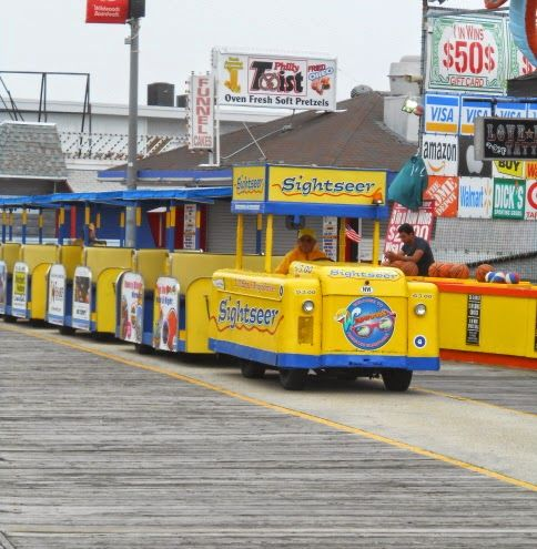 Our Top 12 Things to See and Do While Visiting Wildwood New Jersey - Take a ride on the  famous Wildwood Sightseer Tram Car