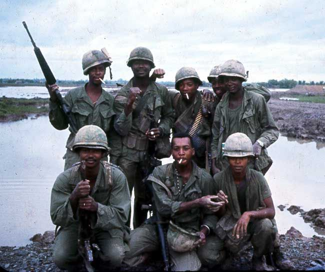 """""""Some of the """"brothers"""" from the 9th Infantry Division."""" ~ Vietnam War"""