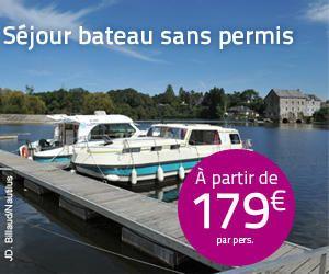 Location de peniche sur la loire en Anjou - Bateau sans permis