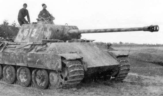 German Panther Medium Tank (Panzer V) | WW II Europe ...