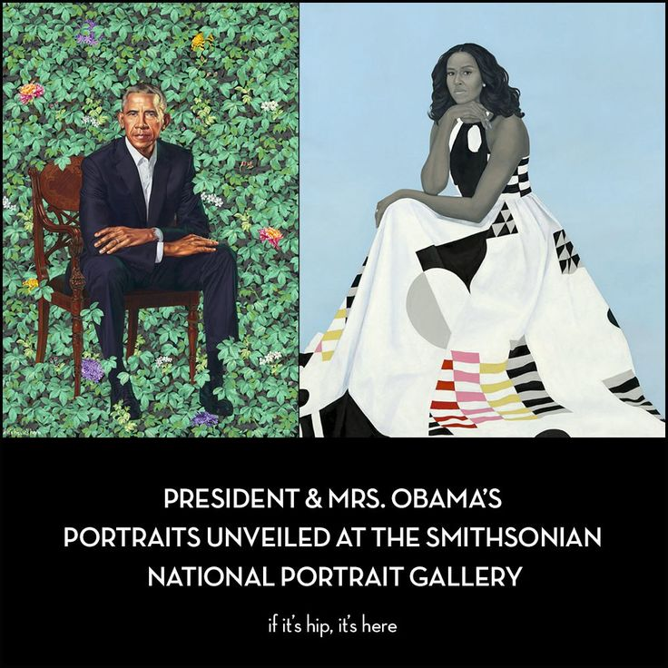 The Obama Presidential Portraits by Kehinde Wiley and Amy Sherald