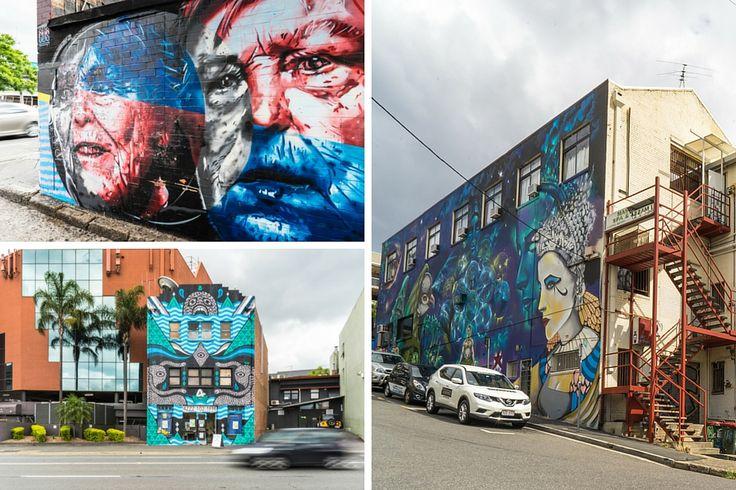 Fortitude Valley Street Art, Brisbane
