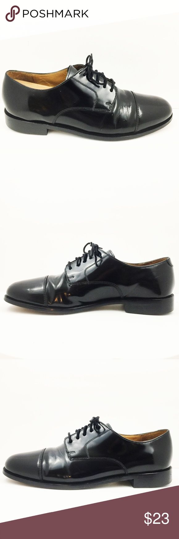Cole Haan Black oxford dress shoes Cole Haan Caldwell Black oxford Toe dress shoes men's size 9D. There are a few pin head white spots on the outside of the right shoe as pictures. Cole Haan Shoes Oxfords & Derbys