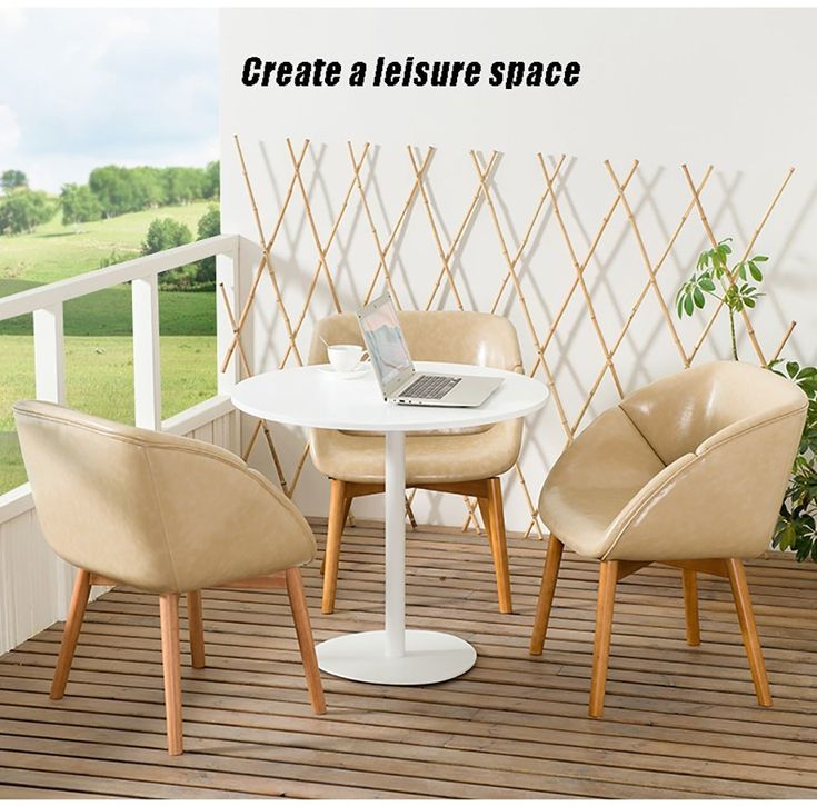 Solid Wood Lounge Chairs Fashion Dining Chair Simple ...