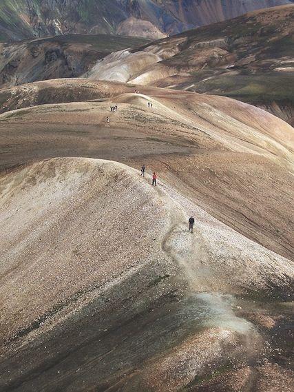 laugavegurinn trail // icelandic glory