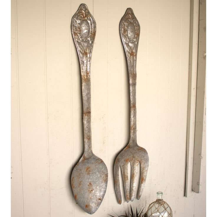 Best 25+ Fork spoon wall decor ideas on Pinterest ...