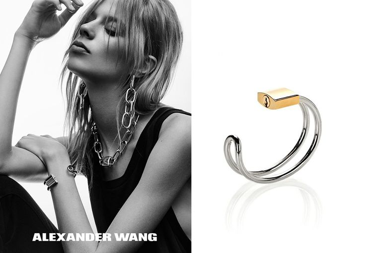 Lexi Boling for Alexander Wang Jewelry SS 2016 Campaign
