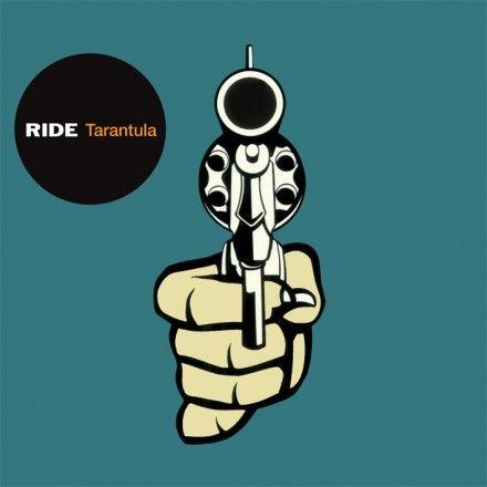 Ride's 1996 Tarantula album front cover art youtubemusicsucks.com #tarantula #ride #band #englishband #oxfordband #psychedelicband #shoegazer
