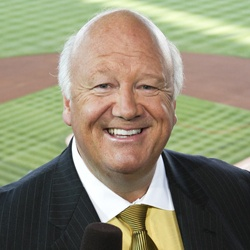 Jon Miller- Voice of the Giants, former voice of ESPN Sunday night baseball. One of my favorite announcers :)