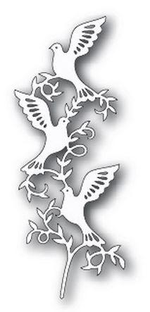 Tutti Designs - Cutting Die - Doves Branch