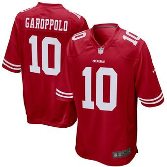 Nike Jimmy Garoppolo San Francisco 49ers Game Jersey #49ers #niners #nfl