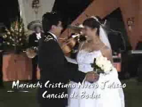 MATRIMONIO  CRISTIANO - CANCION DE BODA - MARIACHI NUEVO JALISCO - 56815...