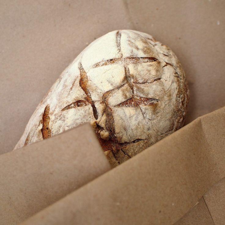 Pšeničný chléb s žitným kváskem – nejjednodušší