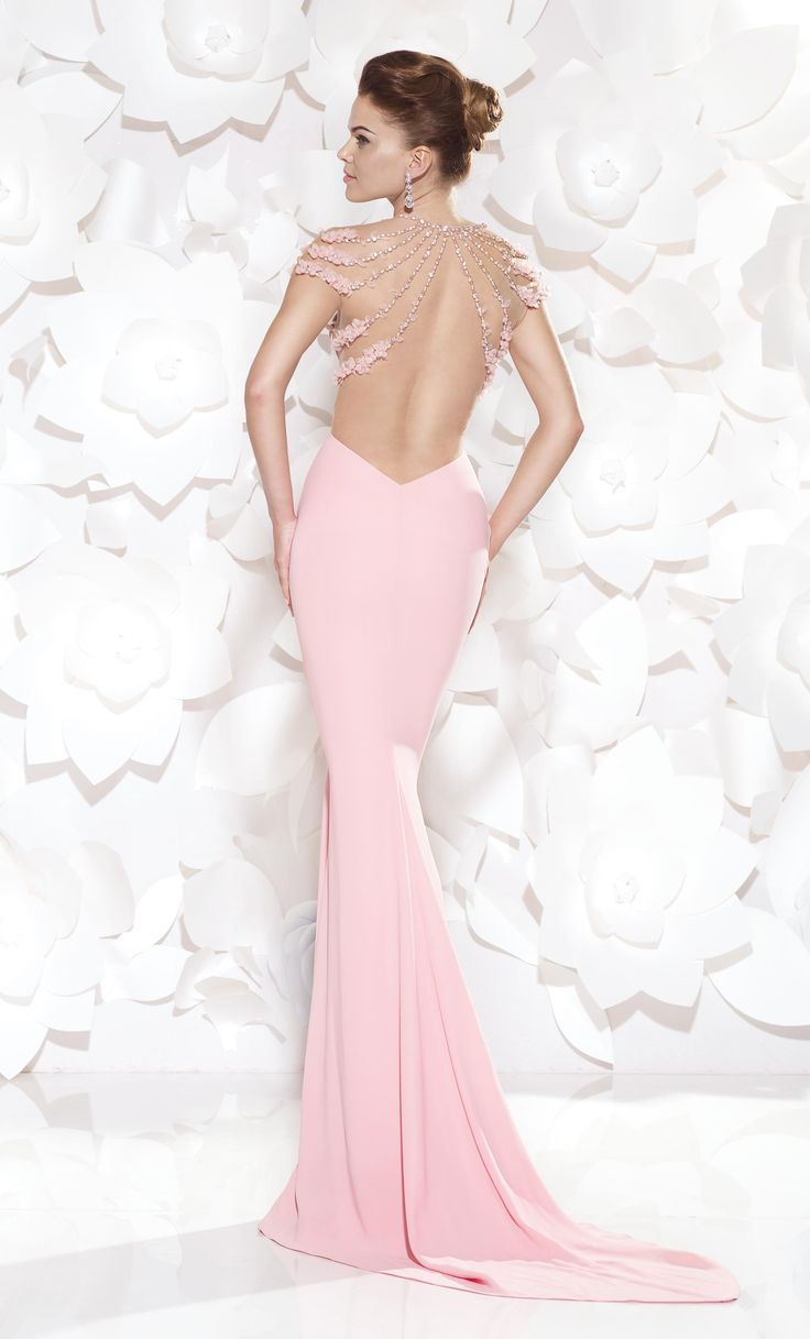 Beformal.com.au SUPPLIES Sexy Mermaid Cap-Sleeves Beading Flower Floor-Length Court Train Formal Dress  Long Formal Dresses