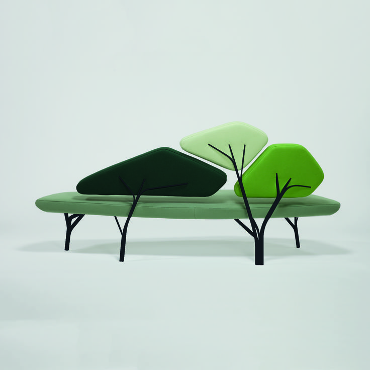 Borghese Sofa by La Chance. Design by Noe Dauchafour Lawrence.