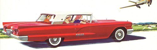 The four-passenger Ford 'Square Bird' was first unveiled at the New Year's Eve party at the exclusive Thunderbird Golf Club in Palm Springs California in 1957. #Ford #cars #car #FordGT #focus #fiesta #auto #F150