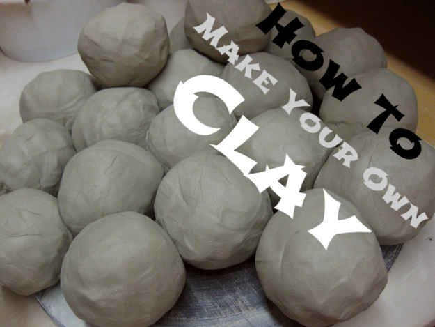 9. Make Your Own Clay