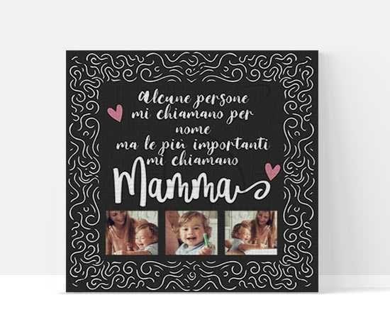 Foto Collage Dedica a mamma