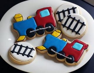 Train cookies @Maria Canavello Mrasek Canavello Mrasek Henderson McMasters