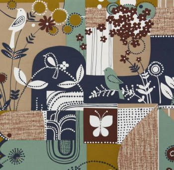 Latest Designer Fabric 'Beverly Glen ' by Alexander Henry (USA). Roman blinds and curtains make to order online.