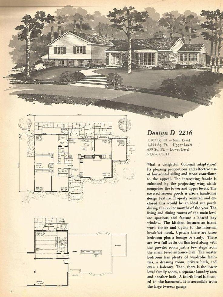 17 Best Ideas About Split Level House Plans On Pinterest