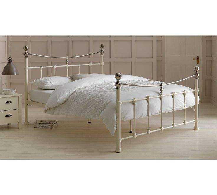 Best Buy Argos Home Jayna White Double Bed Frame Bed Frames 400 x 300