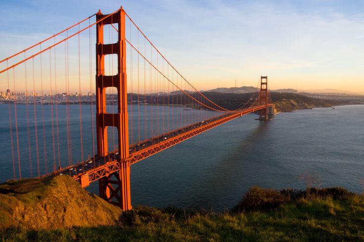 San Francisco - Sights - Golden Gate Bridge