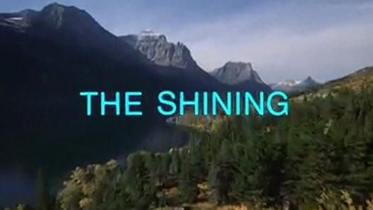 THE SHINING. Réal: Stanley Kubrick. 1980