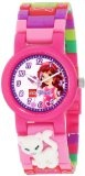 Lego Kids' 9000805 Friends Pink Plastic 2 Pack of Analog Watches