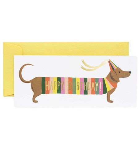 Hot Dog Happy Birthday Card – Paper Luxe