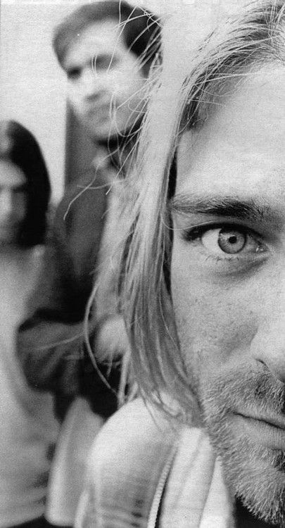 Dave Grohl, Krist Novoselic and Kurt Cobain #Nirvana