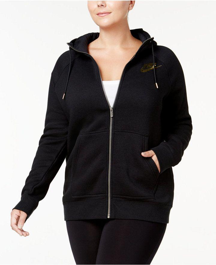 Nike Plus Size Sportswear Rally Zip Hoodie