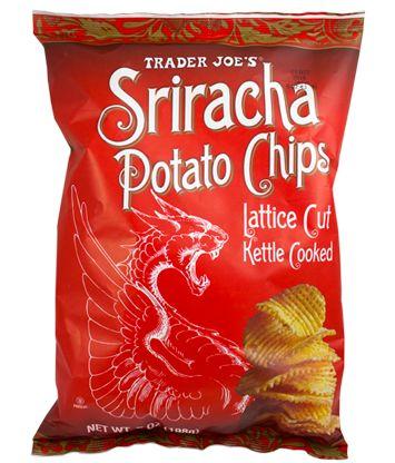 Sriracha Potato Chips   Trader Joe's