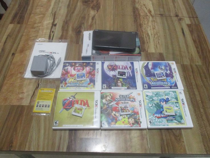 Nintendo 3DS Bundle: Comes with 6 games, charger and orignal box.: $320.00 End Date: Thursday Mar-22-2018 15:46:24 PDT Buy It Now for only:…