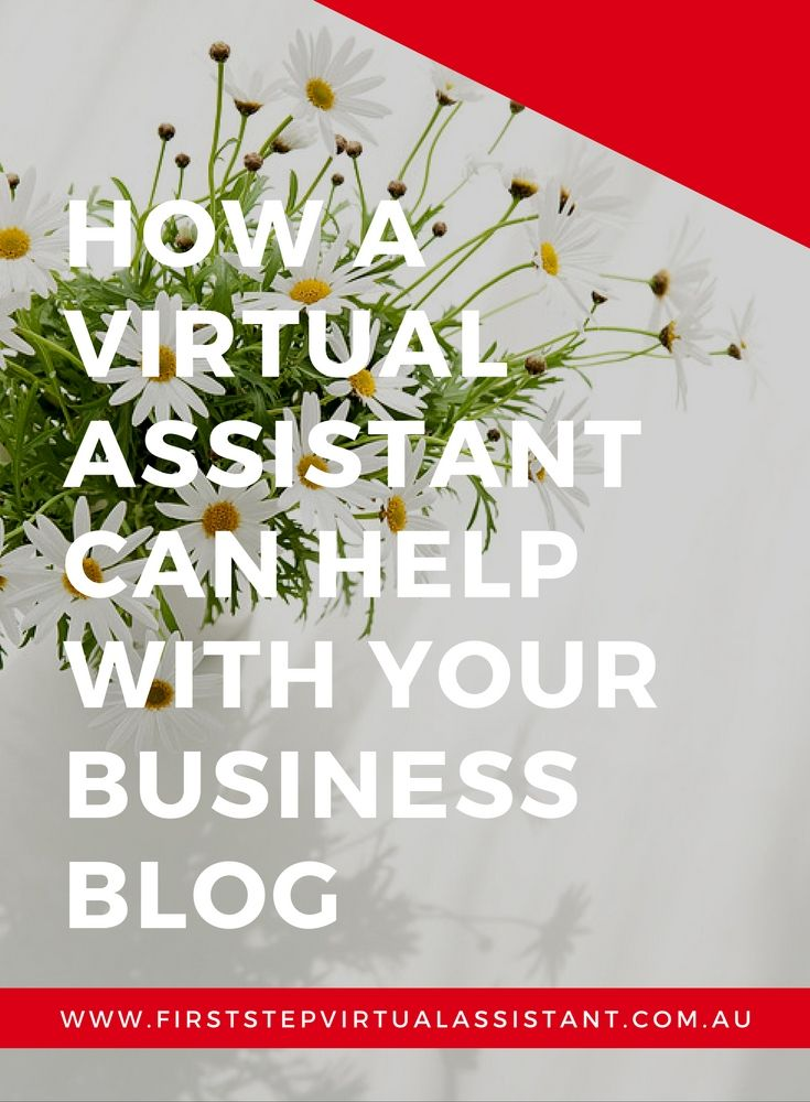 How a Virtual Assistant can help with your business blog