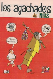 LOS AGACHADOS DE RIUS - AÑO I - N°1