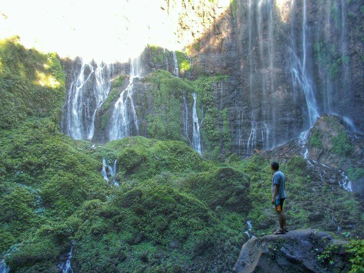 Tumpak sewu waterfall, Lumajang - East Java, Indonesia