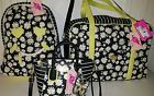 ◊ Nwt Luv Betsey Johnson Daisy Floral Striped Quilted Backpack/Weekender... Act Soon! http://j.mp/2n9nNSn