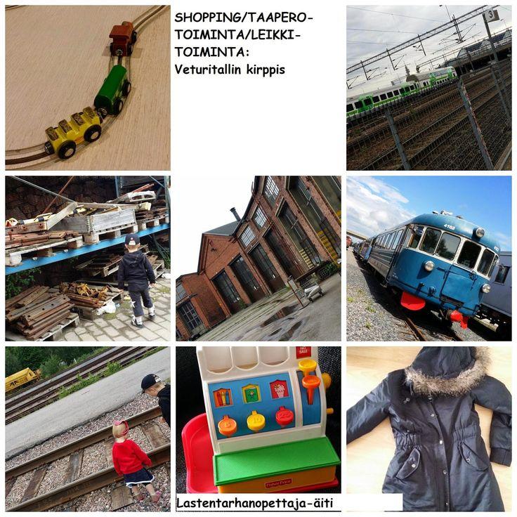 lasten tapahtumat, ostokset, Veturitallin, veturitallin kirppis, kirpputori, kirppis, veturi, junat