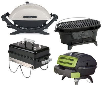 Reviews of Tailgate Grills, Camping Grills, Small Grills, Lightweight Grills, And Portable Grills  for the balcony, beach, tailgate party, hiking, cattle drive, Winnebago, or yacht.